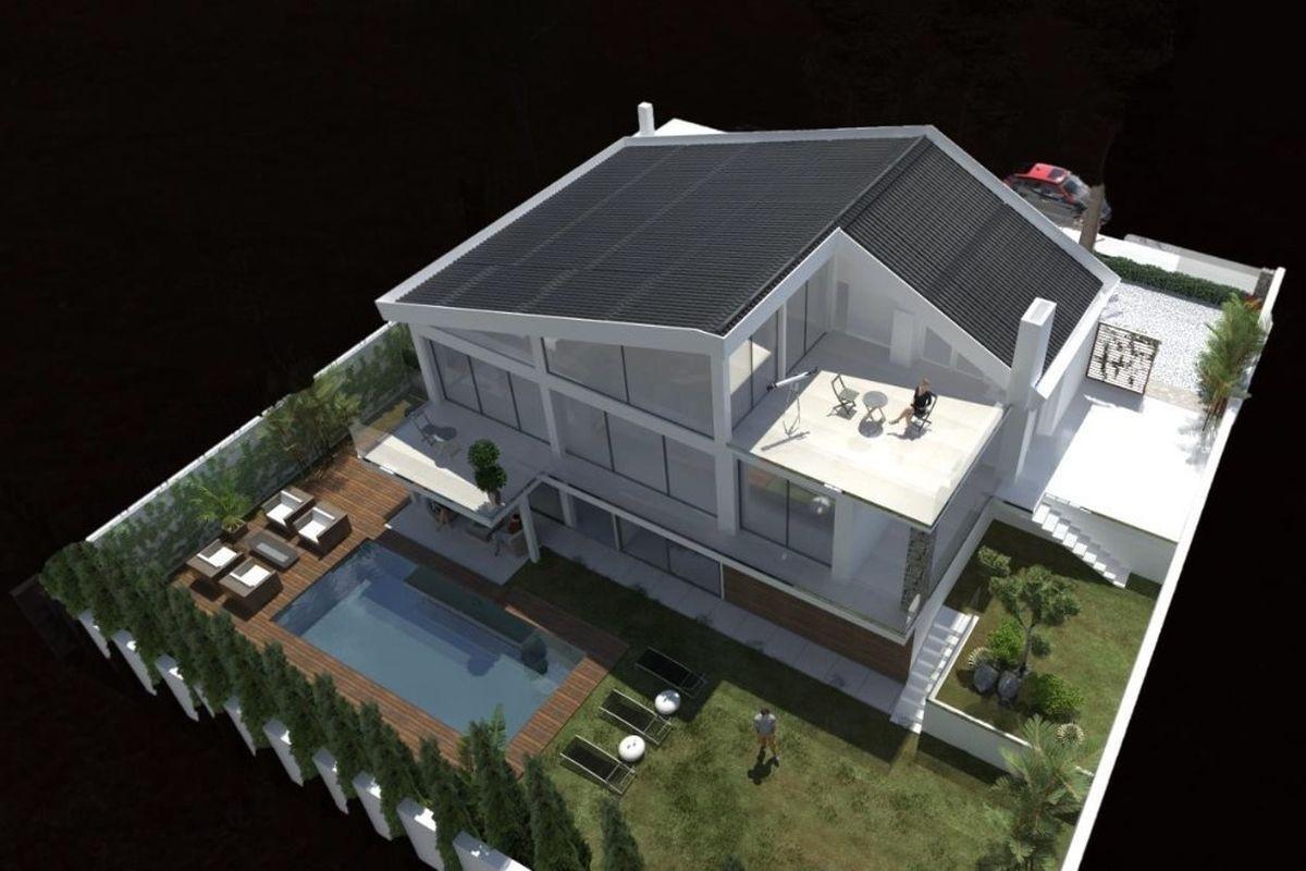 Grundriss villa 3d  Fantastisches, saniertes Haus in Alt Bendinat zu kaufen