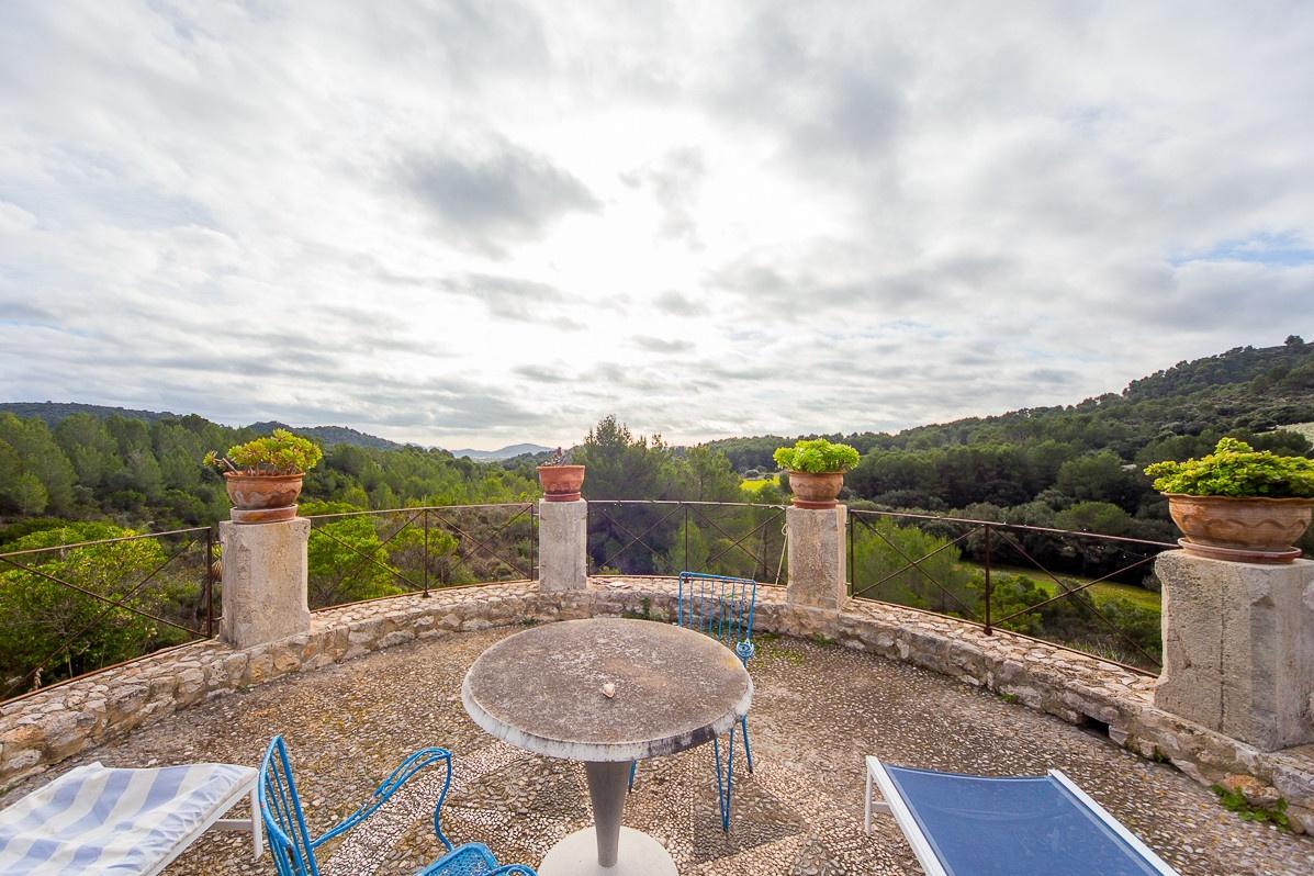 exceptional finca property in the middle of the parc de levante purchase - Solar Terrassen Dusche