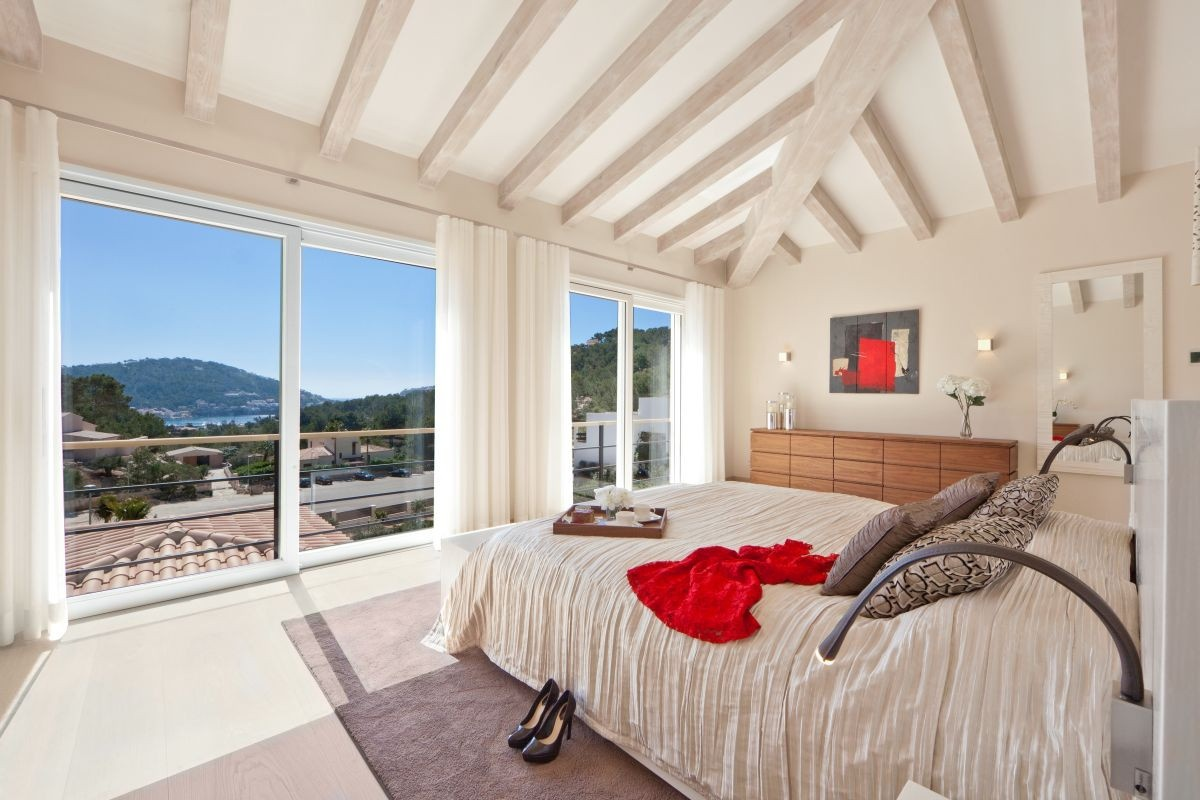 exclusive villa near to the harbour in port andratx-purchase, Schlafzimmer entwurf