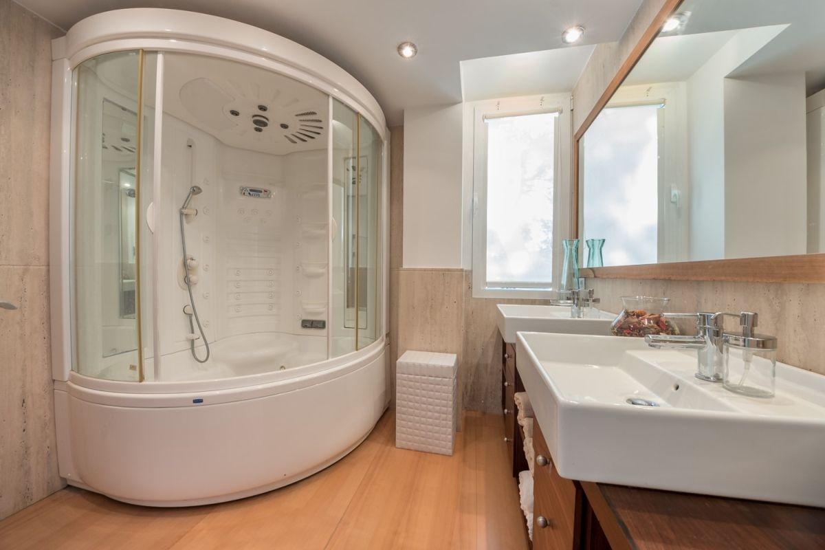 Strand Look. Affordable Mit Wanne Und Dusche Dz Bad Badezimmer ...