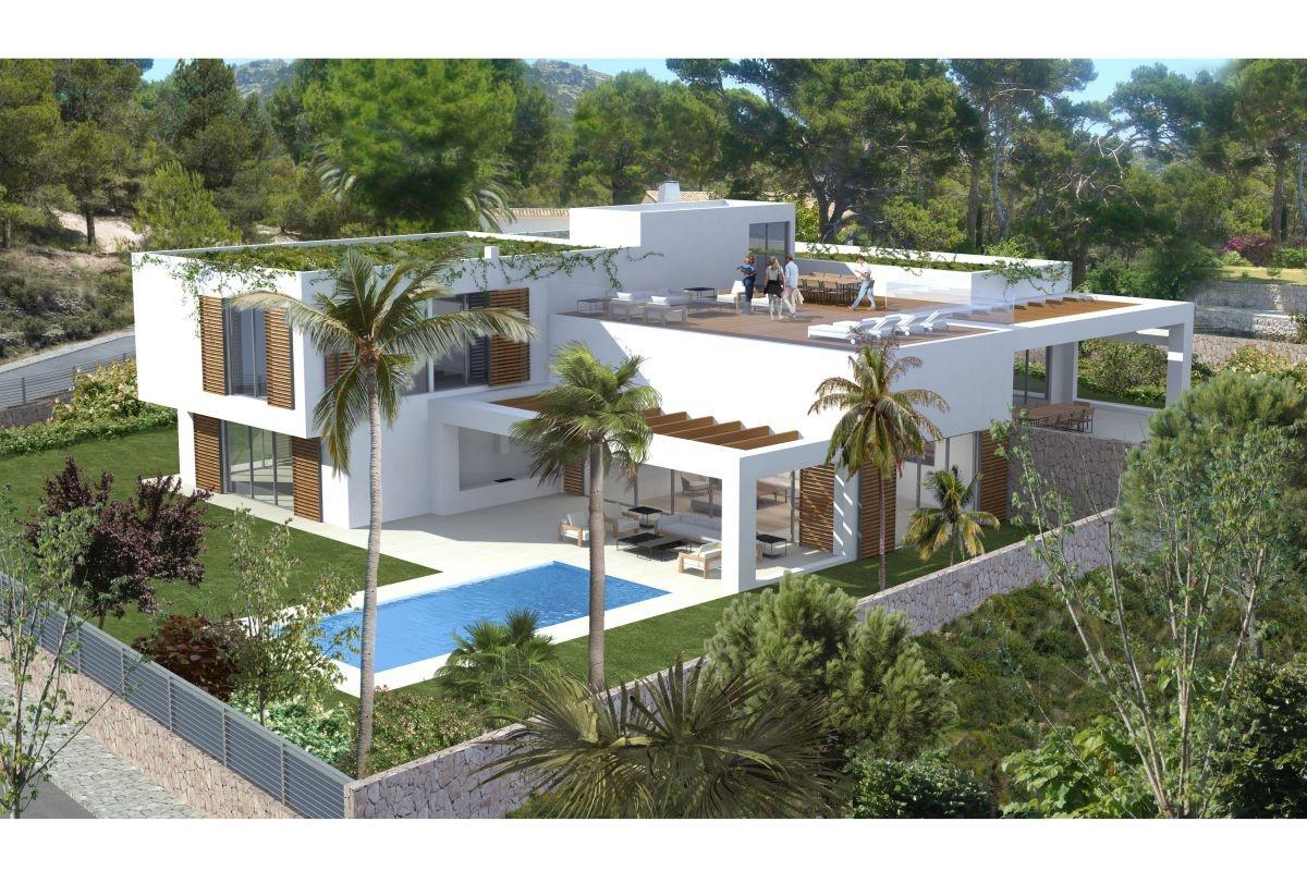 Projekt Für Eine Moderne Luxusvilla In Sol De Mallorca
