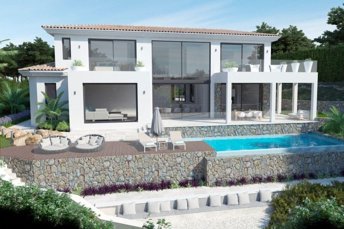 Moderne luxusvilla kaufen  Villa Mallorca kaufen: Villen von Porta Mallorquina