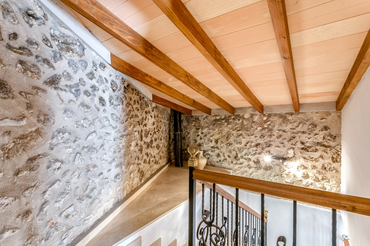 Le Treppenaufgang town house in mancor de la vall with garden sun terrace and the