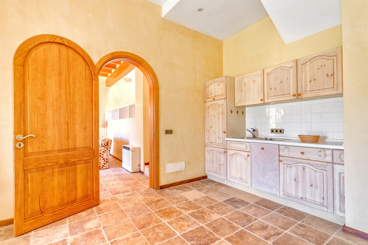 Beautiful terraced house directly on Pula Golf in Son Servera with ...