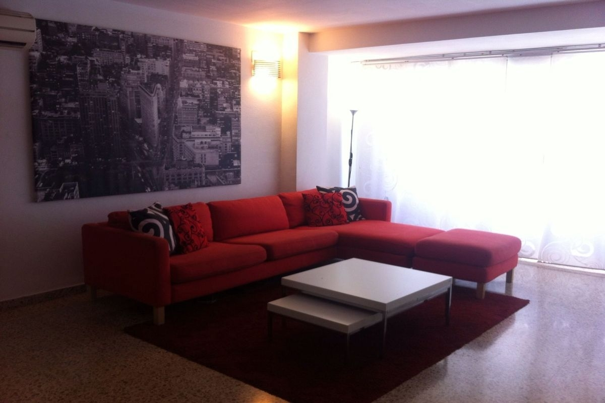 Furnished Apartment Near To El Corte Ingles In The Avenida Alexandre Rossell For Rent