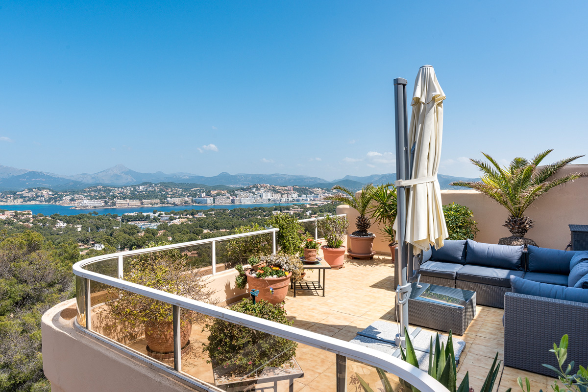 Stunning sea view apartment in Santa Ponsa - purchase